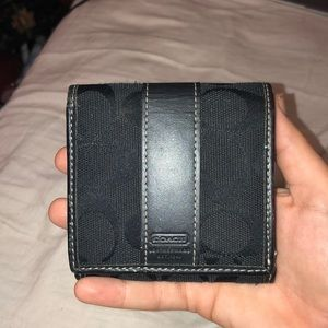 Coach fold over wallet